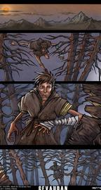 Gevaudan  Comic Pg. 1 © Ferric Press 2012